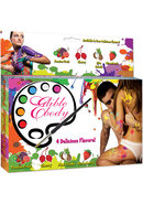 Edible Body Paints Kit 4 Assorted Colors And Flavors